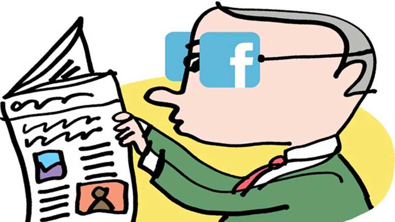 Facebook no parece reconocer su propio poder, y no se ve así misma como una organización de noticias.