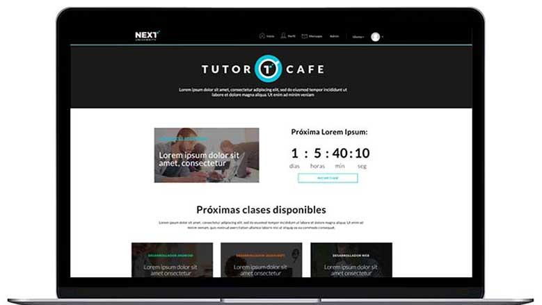Next University es el nuevo proyecto al que apuesta Andrés Moreno / Foto: Cortesía.