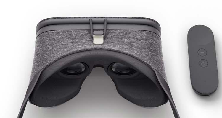 Daydream View, son unos visores de realidad aumentada que fueron presentados durante el lanzamiento de Pixel.