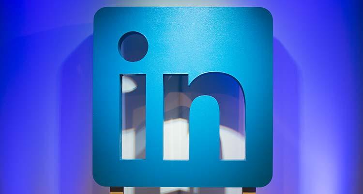Logo oficinal de LinkedIn. / Foto: Cortesía.
